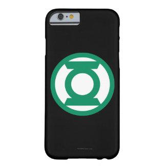Logotipo verde 13 de la linterna funda para iPhone 6 barely there