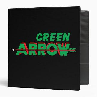 Logotipo verde 2 de la flecha