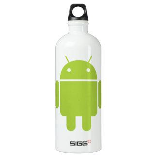 Logotipo verde androide del robot