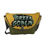 Logotipo verde del Goblin Bolsa De Mensajería