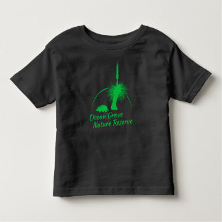 Logotipo verde del negro OGNR de la camiseta del Playera