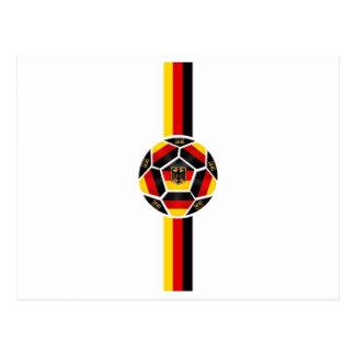 Logotipo vertical de Alemania Postal