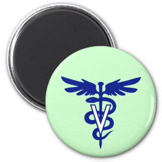 logotipo veterinario 4 iman