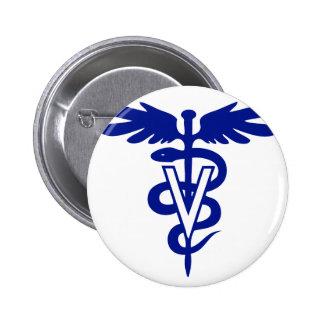 logotipo veterinario 4 pin