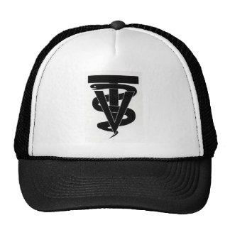 Logotipo veterinario del técnico gorra