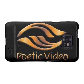 Logotipo video poético samsung galaxy SII fundas