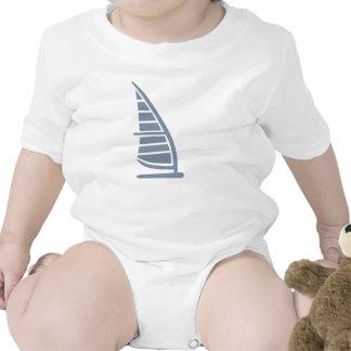 Logotipo Windsurfing Traje De Bebé