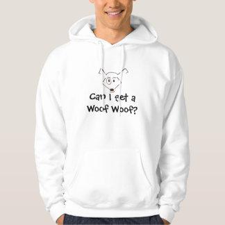 ¿logotipo woofy del tejido, puedo conseguir un pulóver