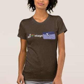 Logotipo y bandera de Adfantage Grecia Camisetas