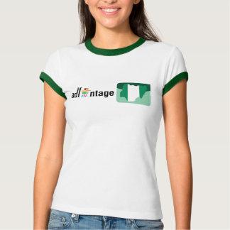 Logotipo y bandera de Adfantage Nigeria Playera