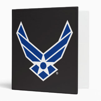 """Logotipo y estrella azules de la fuerza aérea carpeta 1"""""""