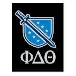 Logotipo y letras apilados - gris postal