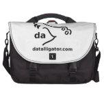 Logotipo y texto de Datalligator Bolsas De Portátil