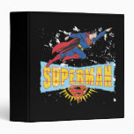 Logotipo y vuelo del superhombre