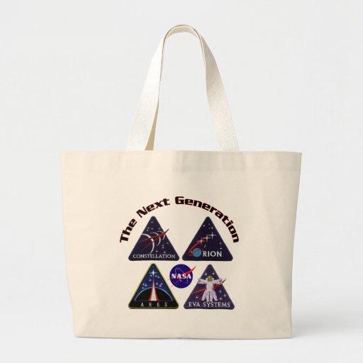 Logotipos del proyecto de la NASA Bolsa