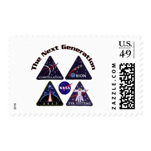 Logotipos del proyecto de la NASA Sellos