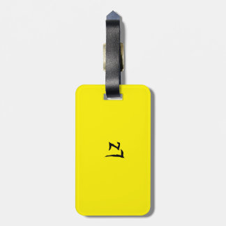 logozion is its new mark that came to stay bag tag