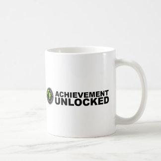 Logro abierto taza