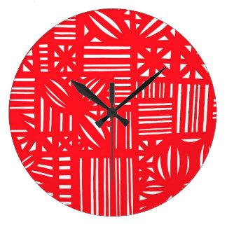 Logro magnífico generoso persistente reloj redondo grande