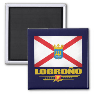 Logrono 2 Inch Square Magnet