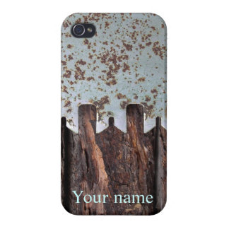 Logs and vintage saw iphone case