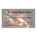 logs in flames photograph business card templates