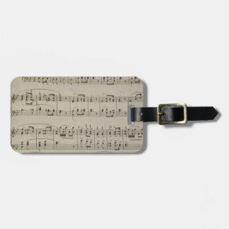 Lohengrin (Bridal Song) Luggage Tag
