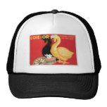 L'oie D'or La Reine Des Cremes Vintage Food Ad Trucker Hats