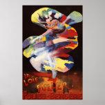 Loie Fuller at Folies-Bergere Theatre Poster