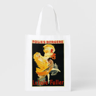 Loie Fuller at the Folies-Bergere Theatre Grocery Bag