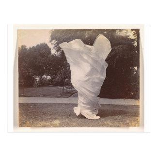 Loie Fuller Dancing Postcard