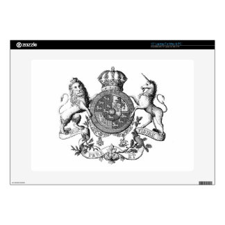 Loin Unicorn Crest Decals For Laptops