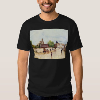 Loing at Moret in the rain by Alfred Sisley T-shirts