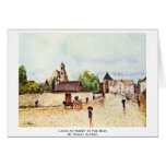 Loing At Moret In The Rain By Sisley Alfred Greeting Cards