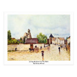 Loing At Moret In The Rain By Sisley Alfred Post Cards