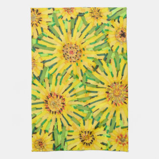 Charming Loire Sunflower KItchen Towel
