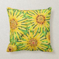Loire Sunflower Pillow