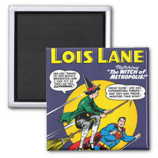 Lois Lane #1 2 Inch Square Magnet