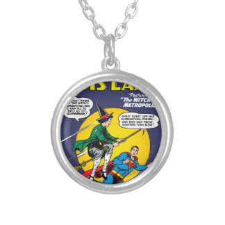 Lois Lane #1 Silver Plated Necklace