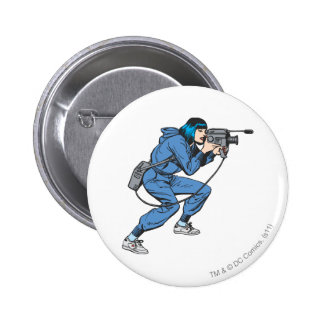 Lois Lane with Camera Pinback Button