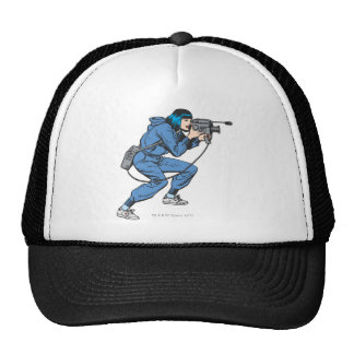 Lois Lane with Camera Trucker Hat