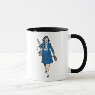 Lois Lane with Microphone Mug