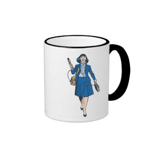 Lois Lane with Microphone Coffee Mug