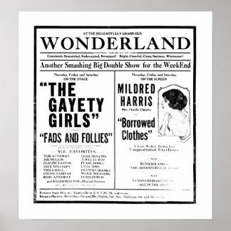 Lois Weber 1919 vintage movie ad poster