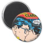 Lois y Clark cómicos Imán De Nevera