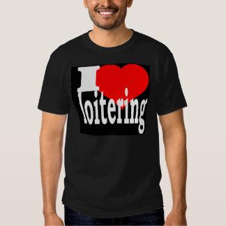 Loitering Blak T-Shirt