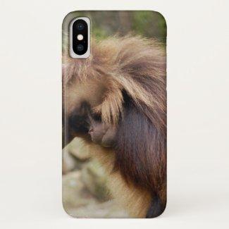Loitering Monkey iPhone X Case