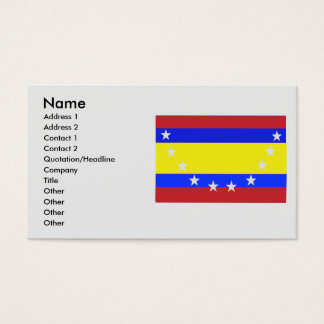 Loja, Equador Business Card