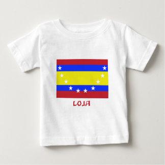 Loja flag with Name Baby T-Shirt