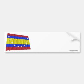 Loja waving flag bumper sticker
